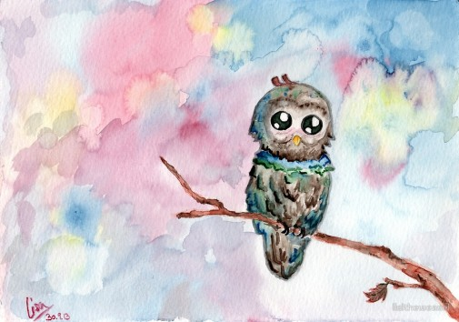 One of my first watercolour paintings.